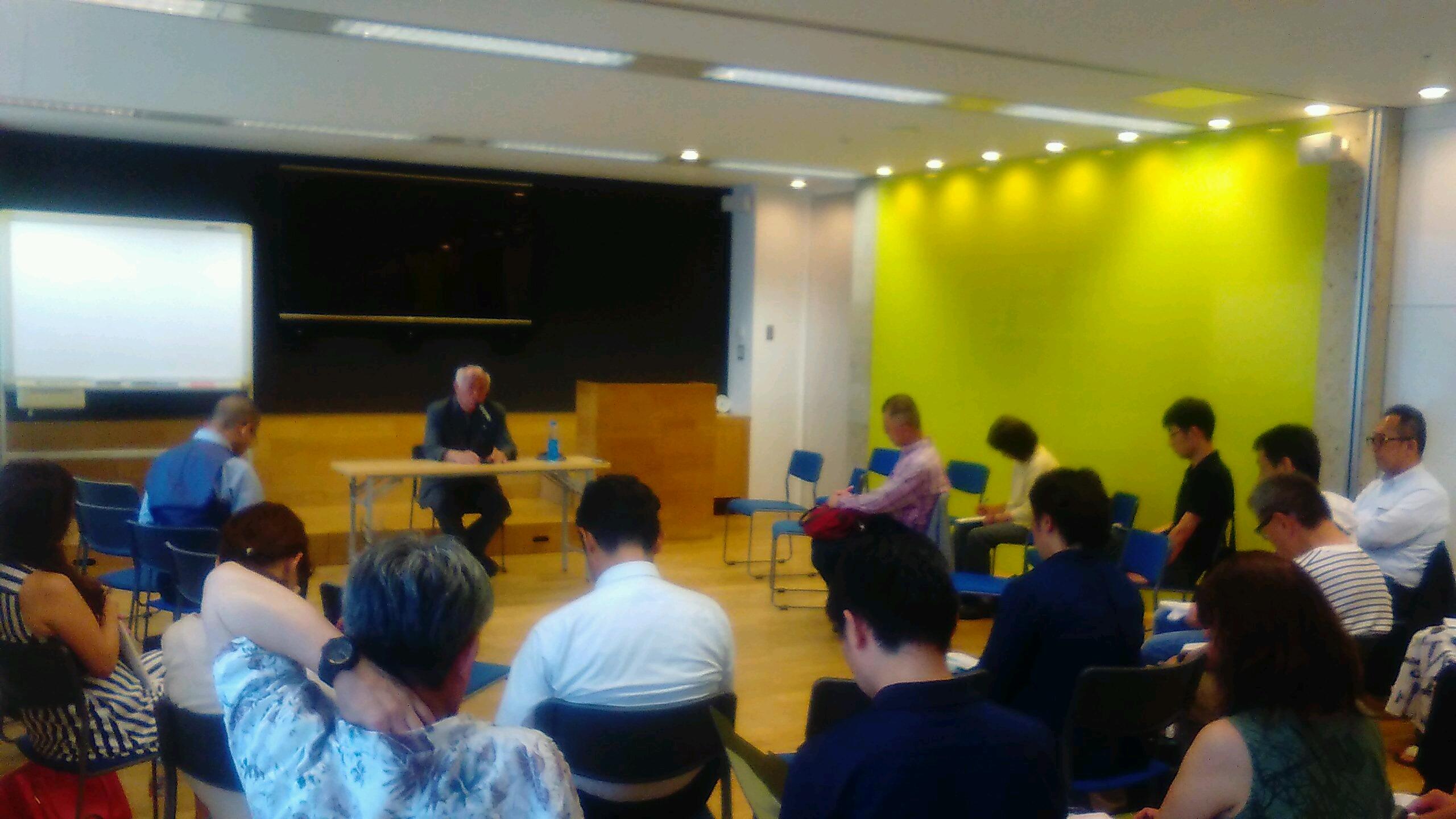 20190803141337 1 - 第3回東京思風塾「本物の人間になるための問い」をテーマに開催しました。