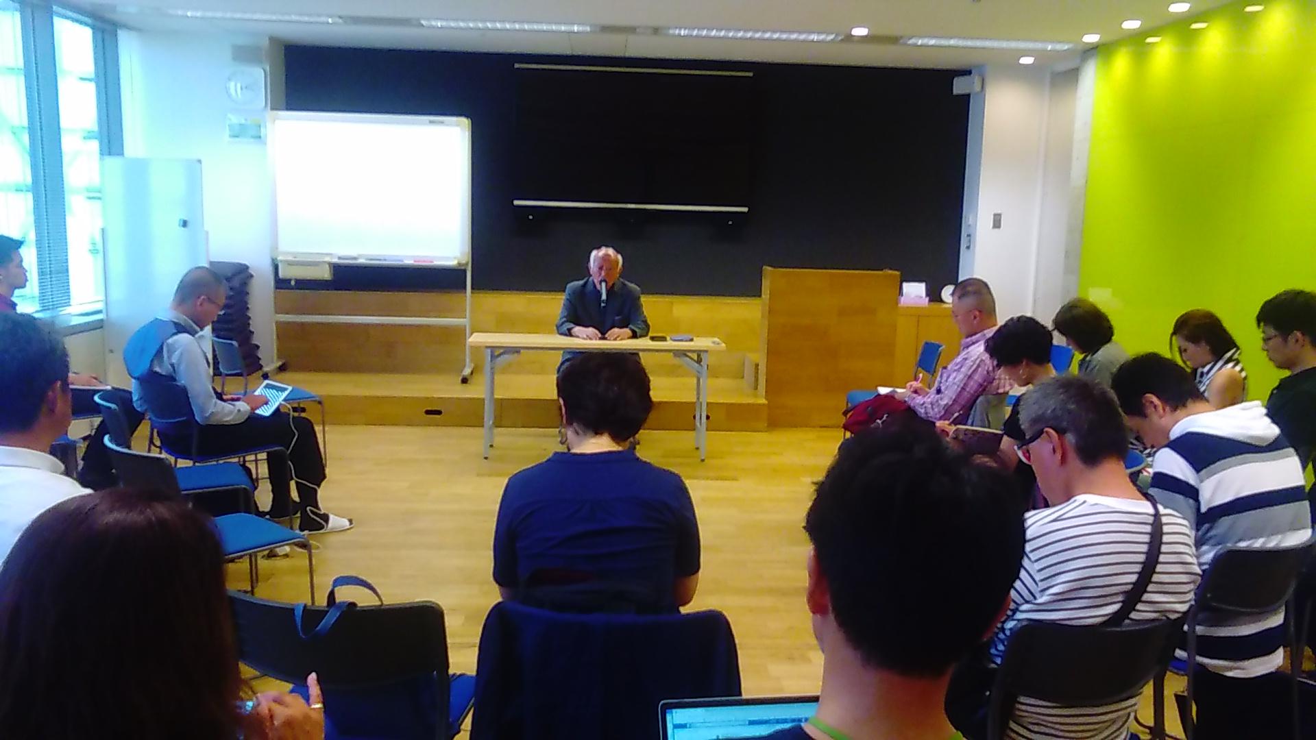 KIMG1362 1 - 第3回東京思風塾「本物の人間になるための問い」をテーマに開催しました。