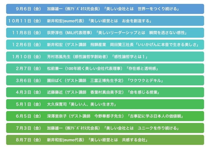 messageImage 1570849381865 - 100年続く美しい会社プロジェクト10月11日、新井和宏氏「美しい経営とは、お金を創造する」
