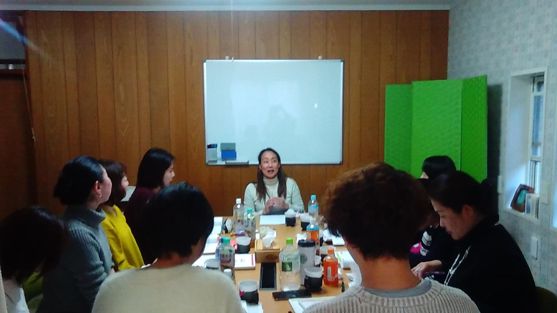 KIMG1468 - 12月14日、胎内記憶教育協会講師養成講座5期生の第5、6講座開催