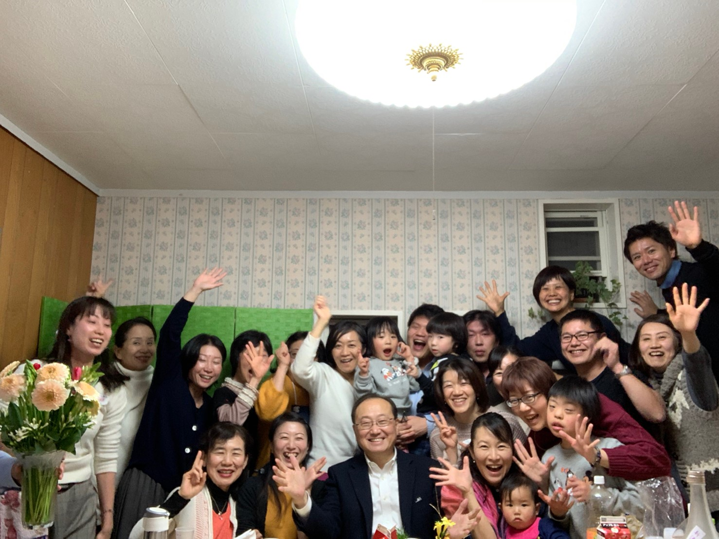 200108 0193 - しあわせ講座のメンバーにて新年会開催