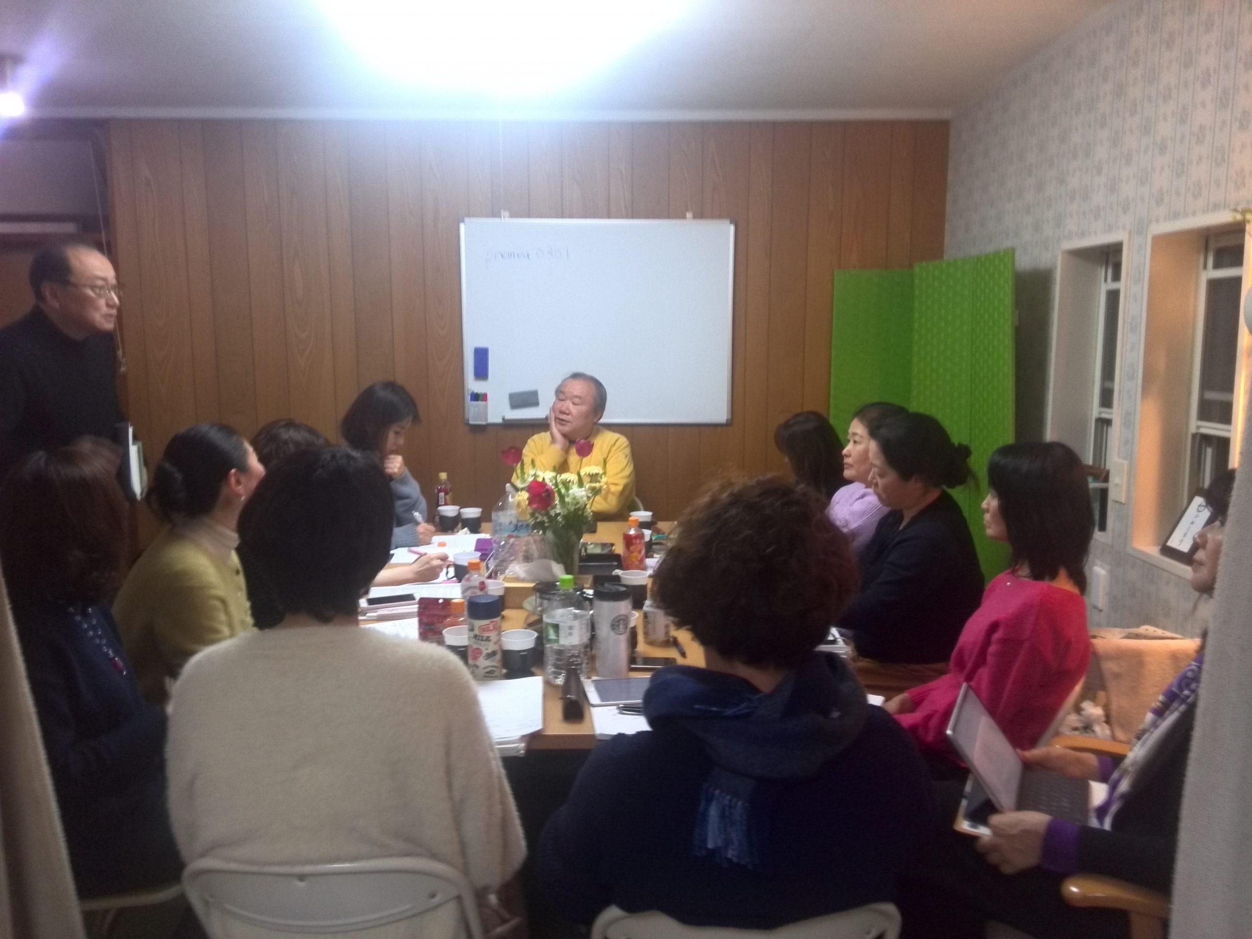 IMG 20110118 225245 scaled - 胎内記憶教育協会、講師養成講座第5期の最終講義