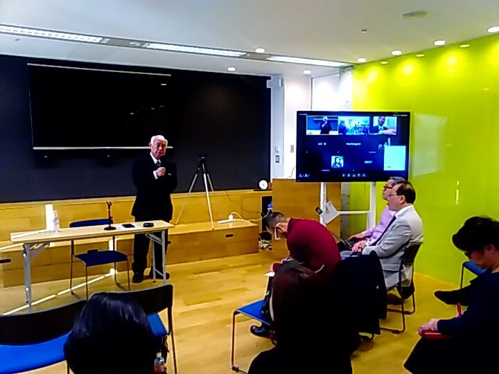 20200110094130 - 100年続く美しい会プロジェクトでは 2月7日(金)松前兼一講師「存在感と透明感」をテーマに講演